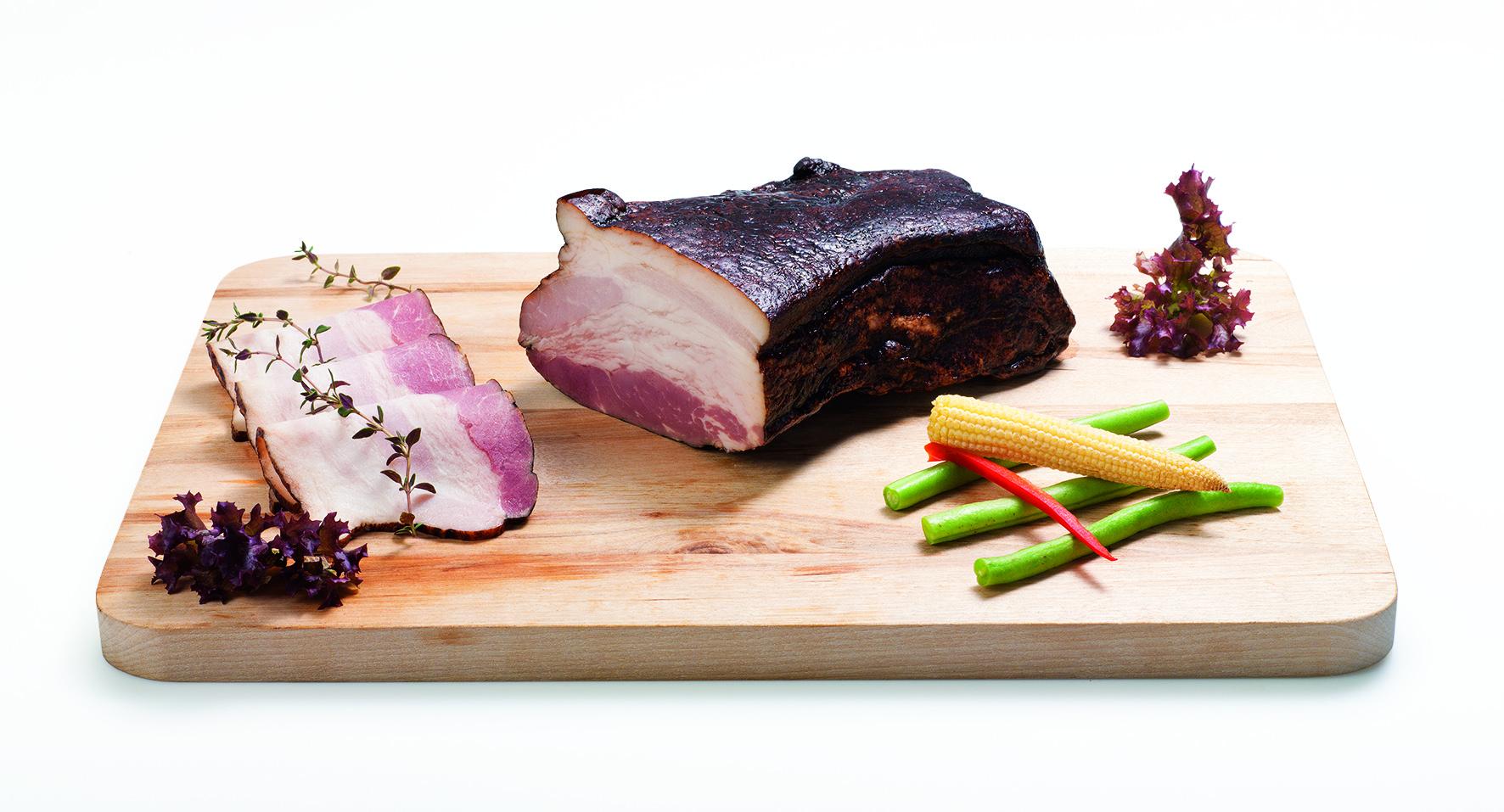 Anglická slanina klasická, bez kůže